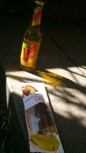 Curuba und Bratwurst