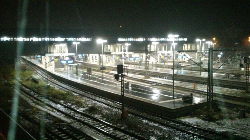Train Station Lübeck
