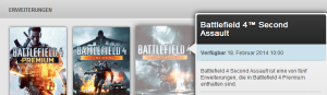 BF4 Second Assault Release Date Origin Store