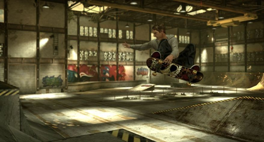 Tony Hawks Screenshot