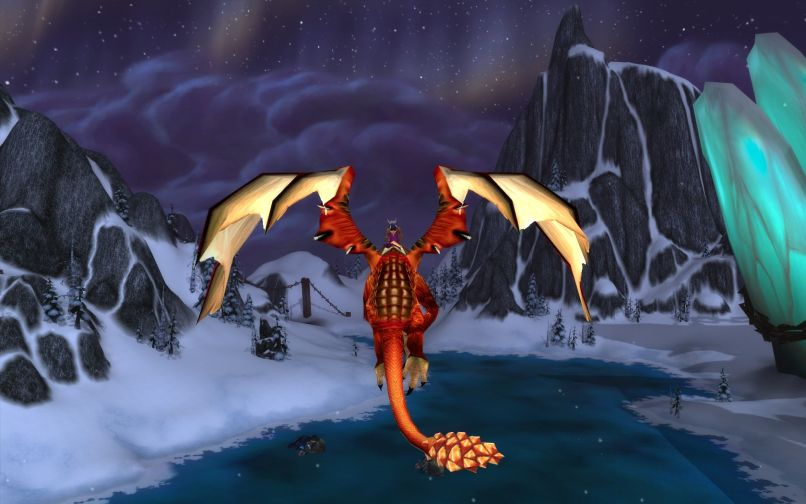 World of Warcraft Dragon Old Screenshot