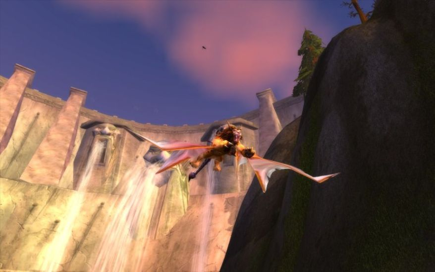 World of Warcraft Screenshot Flying