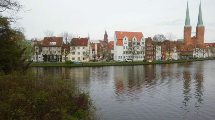 Lübeck And Trave River