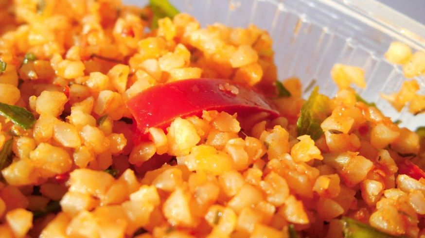 The Bulgur Salad