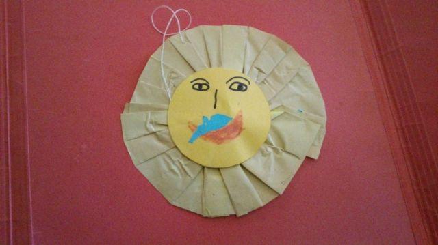 A paper sun