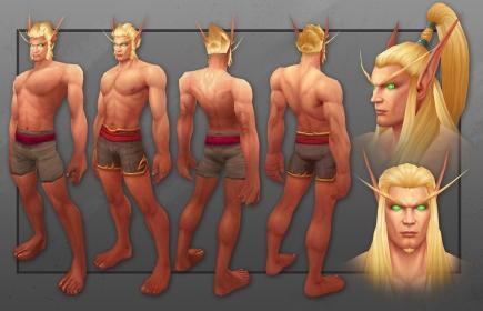 Male Blood Elf Model