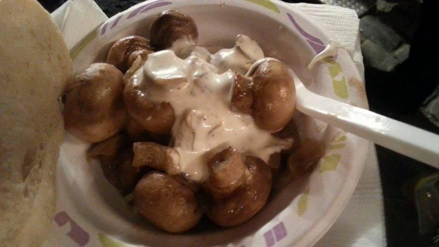 Tasty but expansive mushroom dish