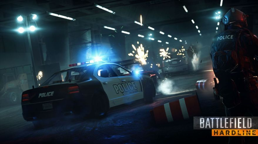 Official BF Hardline Media Screenshot - Cop Chase