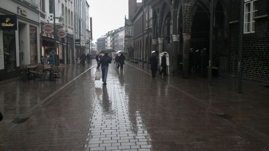 Rainy Day in Lübeck