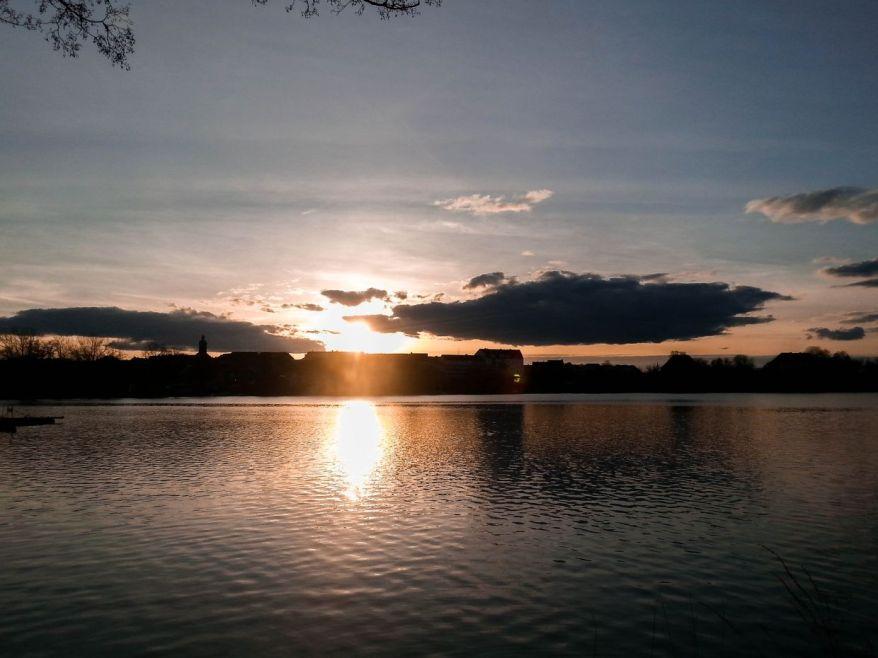 Sunset in Ratzeburg