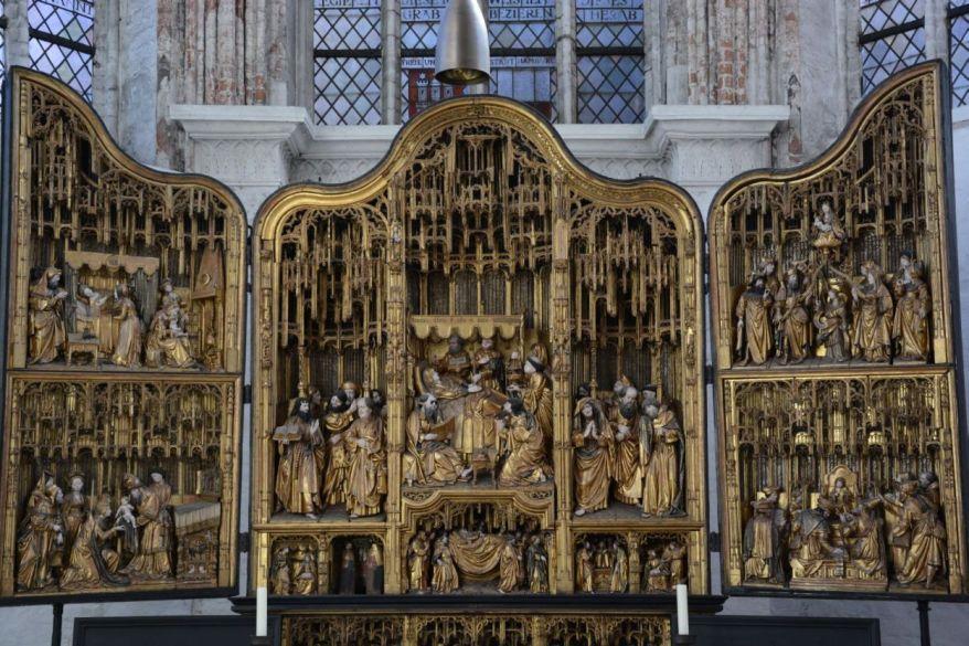 Antwerp Altarpiece St Marys Church Lübeck