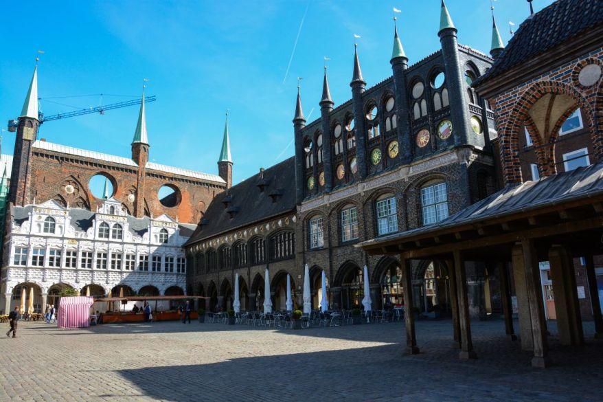 Market Inner-City Lübeck