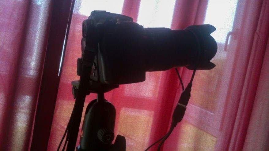 Manfrotto 055XPRO3 Tripod With 498RC2 Ball Head And Nikon D7100