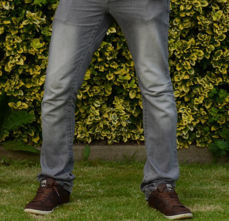 Brown Shoes And Grey Jeans