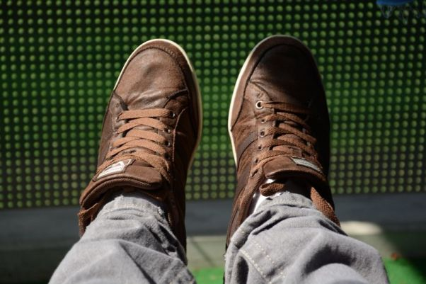 Vty Sneaker Brown Photo 1
