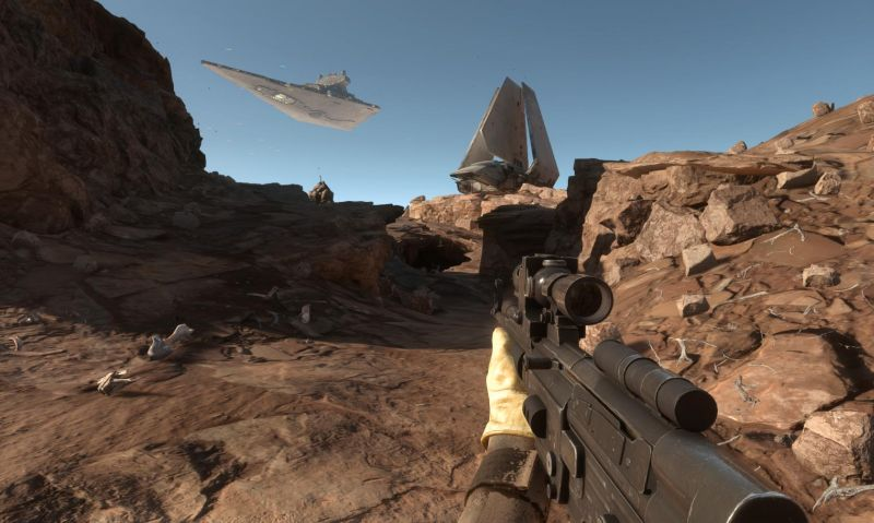 Star Wars Battlefront Screenshot Without UI