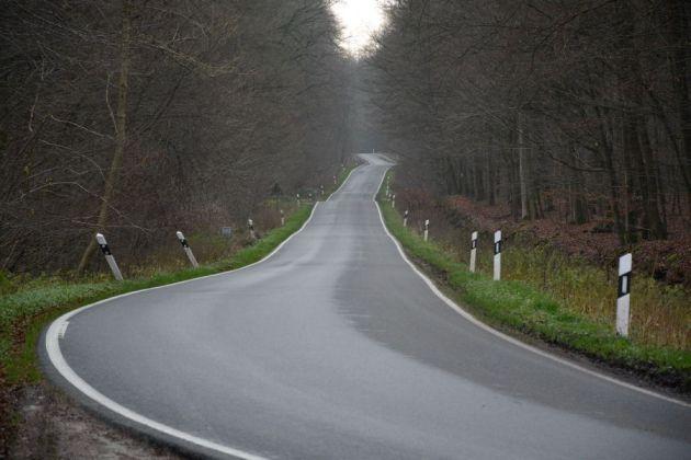 Country Road In Reinfeld