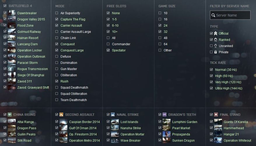 Find BF4 Servers With Spectator Mode To Take Better Screenshots
