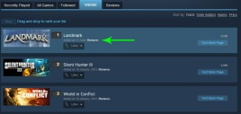 How to remove games from your Steam wishlist