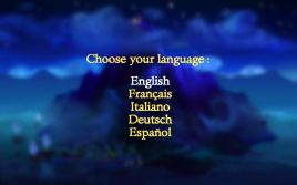 The Secret of Monkey Island Special Edition Language Screen