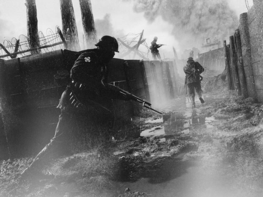 Battlefield 1 black and white screenshot 1 by Berdu