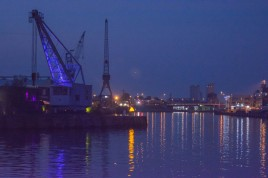 lubeck-trave-river-at-night