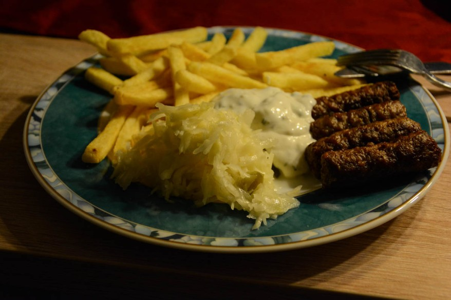 french-fries-cevapcici-cabbage-salad-tzatziki
