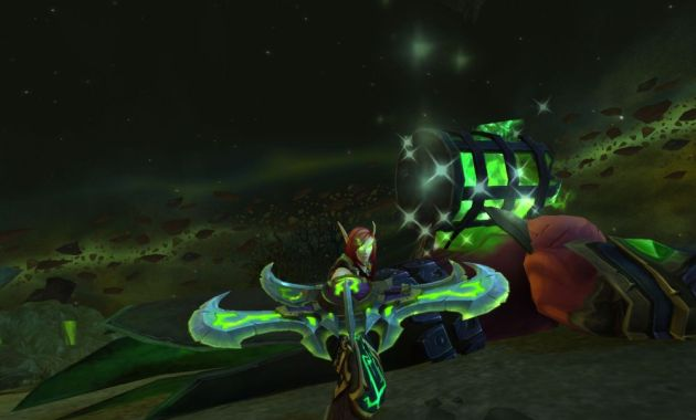 World of Warcraft Loot Screenshot