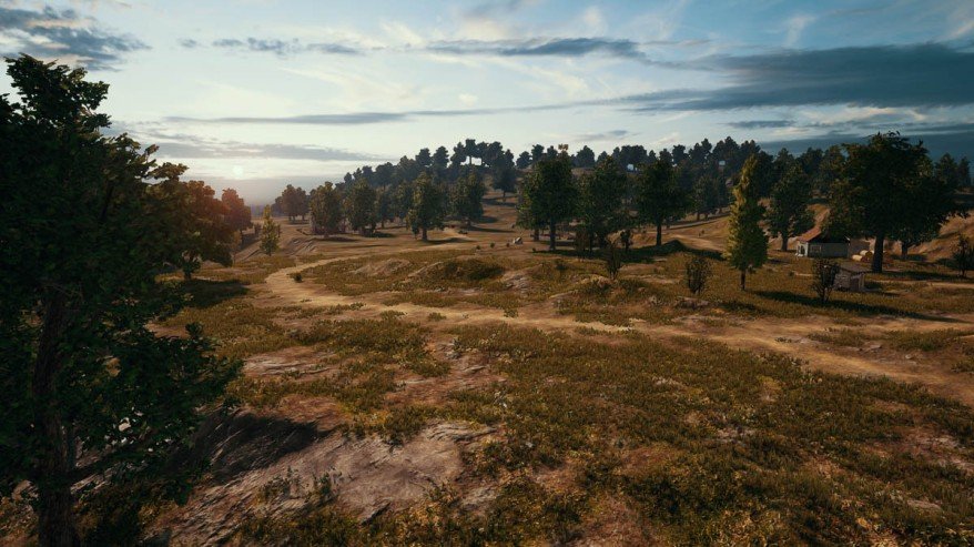 PlayerUnknown's Battlegrounds large map