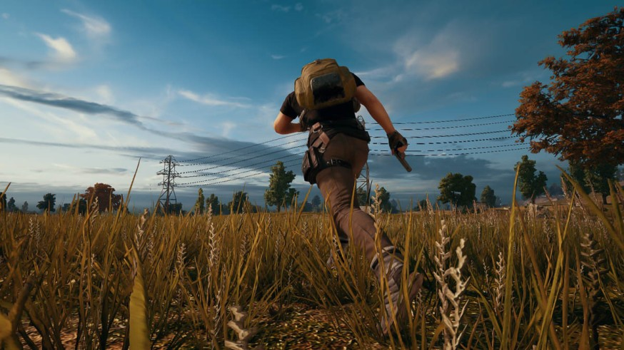 PlayerUnknown's Battlegrounds open field