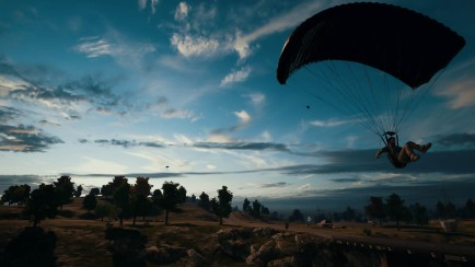PlayerUnknown's Battlegrounds parachute