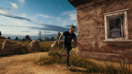 PlayerUnknown's Battlegrounds running