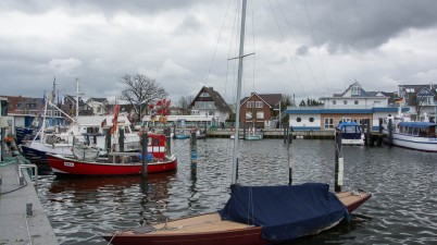 Niendorf Harbour at the Baltic Sea