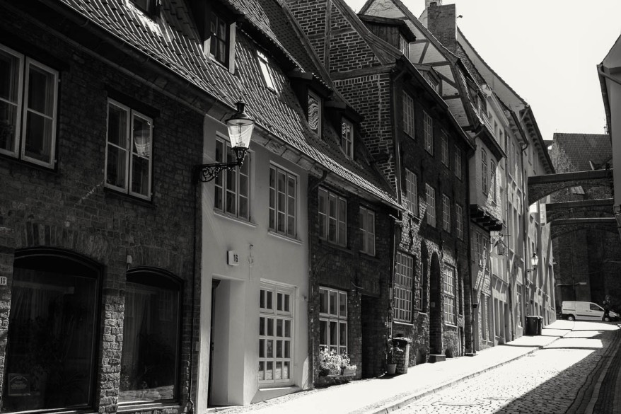 Street in Lübeck