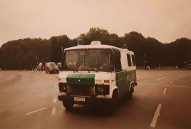 Old Police Car in Berlin