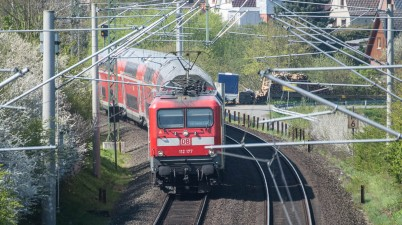 Deutsche Bahn Train in Reinfeld
