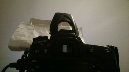 DIY Flash Diffuser For My D7100
