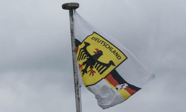 germany soccer flag