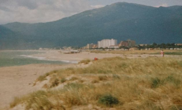 Argeles Sur Mer And The Pyrenees
