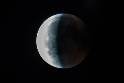Lunar Eclipse 2018 Northern Germany