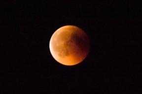 Lunar Eclipse 2018 Northern Germany