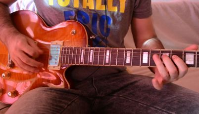 Playing The Guild Bluesbird