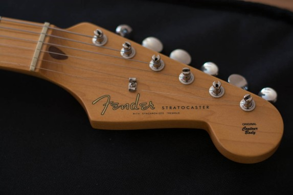 Fender Classic Series 50's Stratocaster headstock