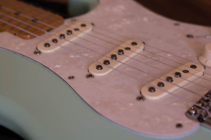 Fender Classic Series 50's Stratocaster in Surf Green Picture 5