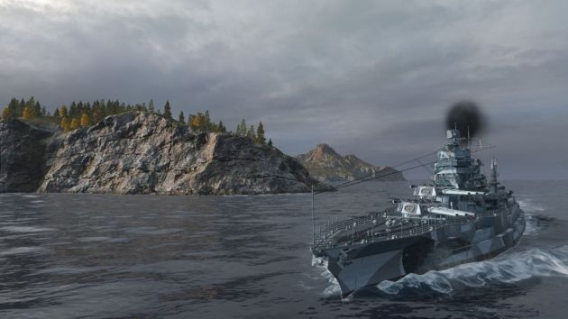 World of Warships without UI