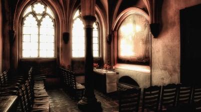 Inside St. Mary's Church, Lübeck