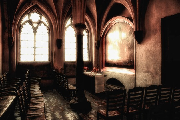 Inside St. Mary's Church, Lübeck