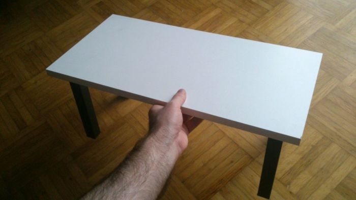 diy pc stand for my ikea alex karlby desk 1