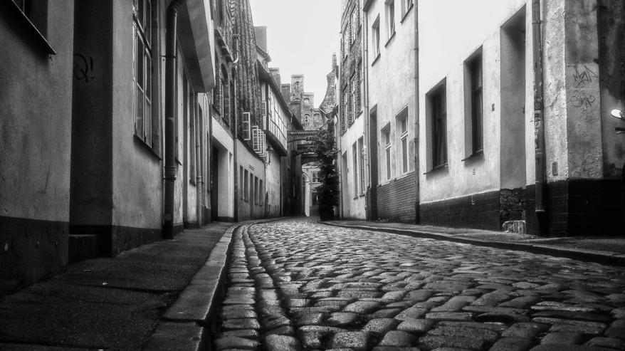 A street in Lübeck