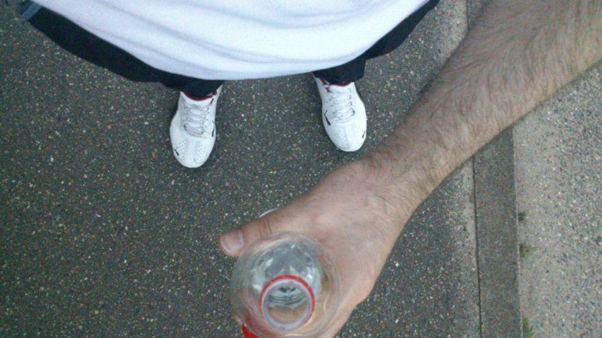After jogging my jogging tour